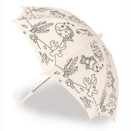 Véritable parapluie à colorier
