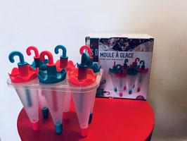 Moule pour 6 glaces Parapluie