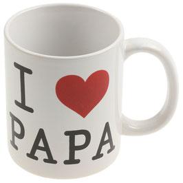 """Tasse """"I LOVE PAPA"""""""