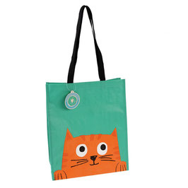 """Sac Shopping """"Chester the cat"""""""