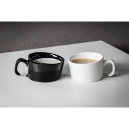 Tasse design noire - sinking cup