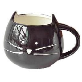 Tasse Chat Noire