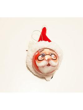 Boule Père Noël avec un chapeau