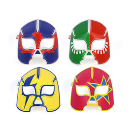 Glowing Masks Wrestlers