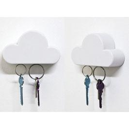 Porte clés magnétique en forme de nuage