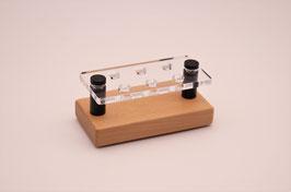 Drip Tip- Ständer 510 aus Buchenholz & Acrylglas