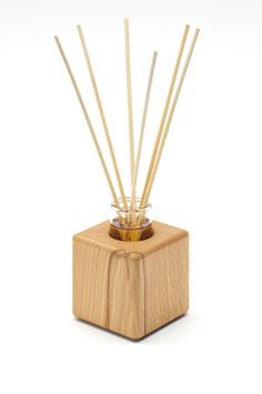 Raumduft - Holzvase aus Kernbuchenholz