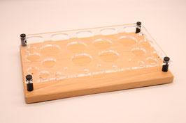 Liquidständer Mix aus Buchenholz & Acrylglas