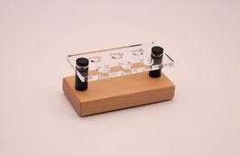 Drip Tip- Ständer 810 aus Buchenholz & Acrylglas