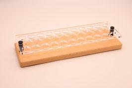 Liquidständer 32x 10ml aus Buchenholz & Acrylglas