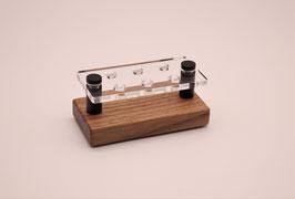 Drip Tip- Ständer 510 aus Nussbaumholz & Acrylglas