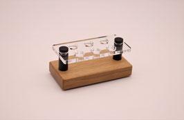 Drip Tip- Ständer 810 aus Eichenholz & Acrylglas