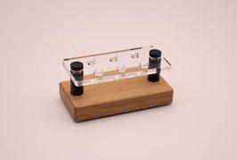 Drip Tip- Ständer 510 aus Eichenholz & Acrylglas