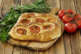 Focaccia mit Tomate & Rosmarin  - 450 g Laib