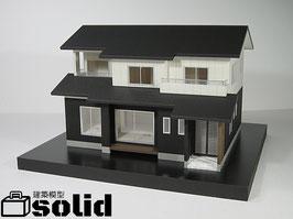 【1/50scale】日本の「普通の」家 シリーズ01 『切妻の家』