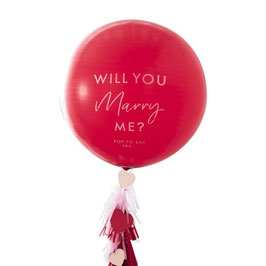 Will You Marry Me Proposal Balloon