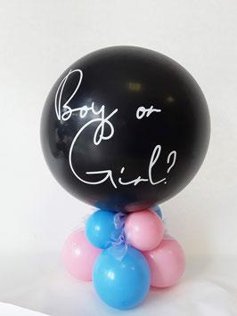 Gender Ballon luftgefüllt