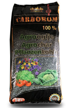 "Carbohum ""100%"" - reine Pflanzenkohle"