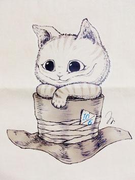 hr.チシャ猫トートバッグ