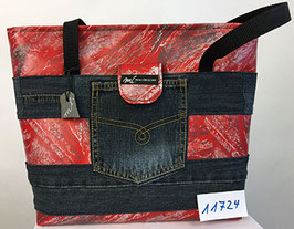 Jeans-Shopper rot