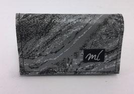 Portemonnaie mini dunkelgrau