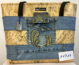 Jeans-Shopper h'braun