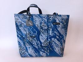 Klassischer Shopper blau