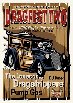 """Eintrittskarten """"DRAGFEST TWO"""" 18.04.2020"""