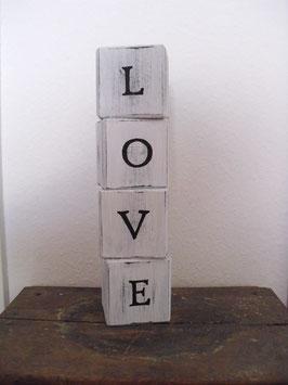 Holzwürfel LOVE