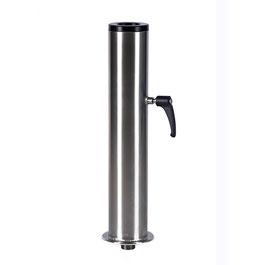 Standrohr 90 mm inkl. Spannhülse, für Schirmrohrdurchmesser ( Stockmass ) 50 bis 75 mm möglich ( grösser auf Anfrage )