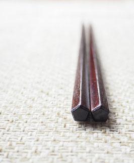 五角箸 すり漆