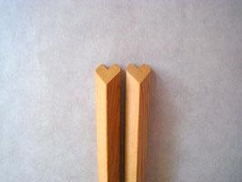 ハート箸 一位