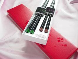 ハート箸 夫婦(めおと)