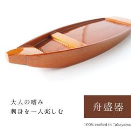 一人舟盛器