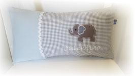 Namenskissen Kissen Elefant