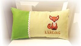 Namenskissen Kissen Name Fuchs