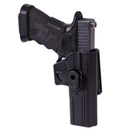 Helikon Realese Button Holster für Glock 17 mit Belt Clip