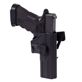 Helikon Realese Button Holster für Glock 17 mit Molle Adapter