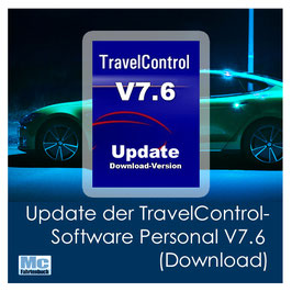 Update der TravelControl-Software Personal V7.6 (Download)