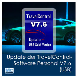 Update der TravelControl-Software Personal V7.6 (USB)
