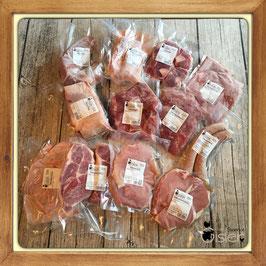 Schweinefleisch Mischpaket vom Freilandschwein