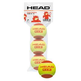 Head T.I.P. Red 3er Poly Bag