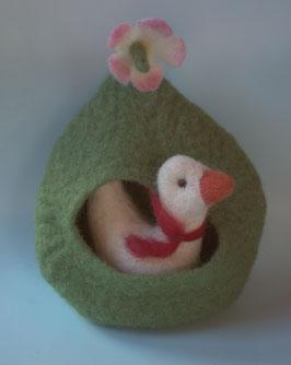 Gänschen im Nest