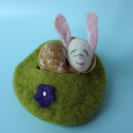 Kleiner Hase im Schneckenhaus 2