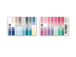 Farbkarte in Kreditkartenform  Sommertyp / Wintertyp / Frühlingstyp / Herbsttyp
