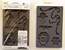 Moule silicone décoratif
