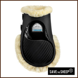 "Streichkappen VEREDUS Mod. Vento Carbon Gel ""SAVE THE SHEEP"""