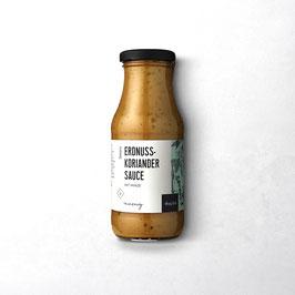 Erdnuss-Koriander Sauce