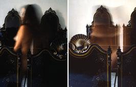 PT - Nudo con letto, Dittico - 1986