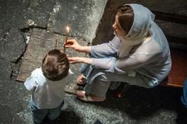 IB 28 - Gerusalemme, ortodossi nel Santo Sepolcro, 2007